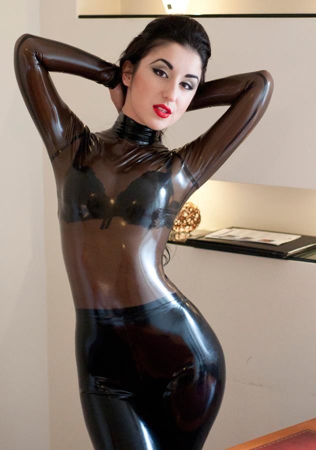 Marilyn yusuf in hot latex Part 5 7