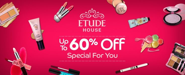Etude House Banner Fragrance Etude House Etude House Lip Tint Etude House Eyeshadow