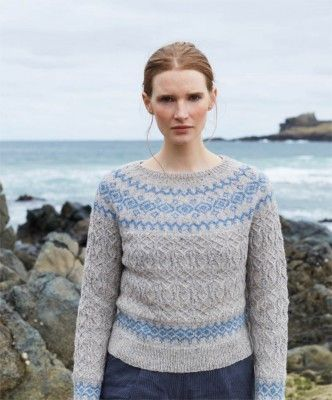 195 best Knit it - Colourwork Yokes images on Pinterest | Knit ...
