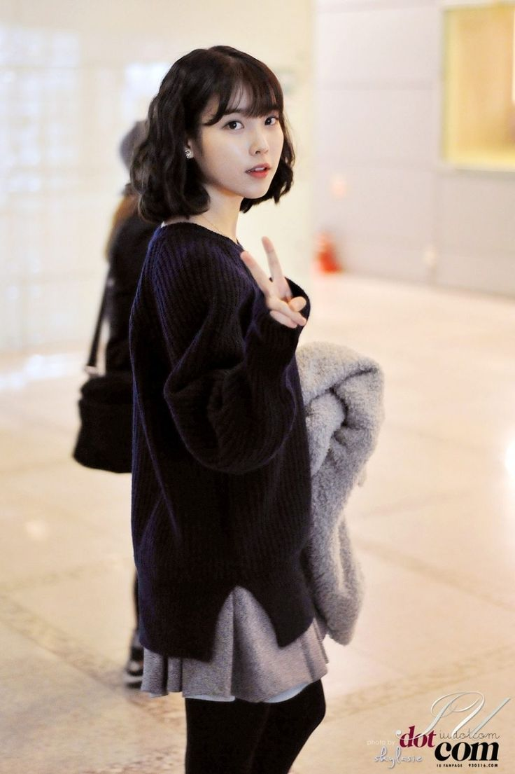 These Pictures Prove IU Has Perfected The Short Hair Style — Koreaboo