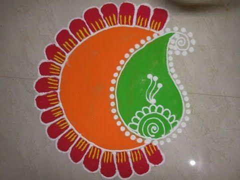 Free Hand Rangoli Designs - Rangoli  Rangoli Designs