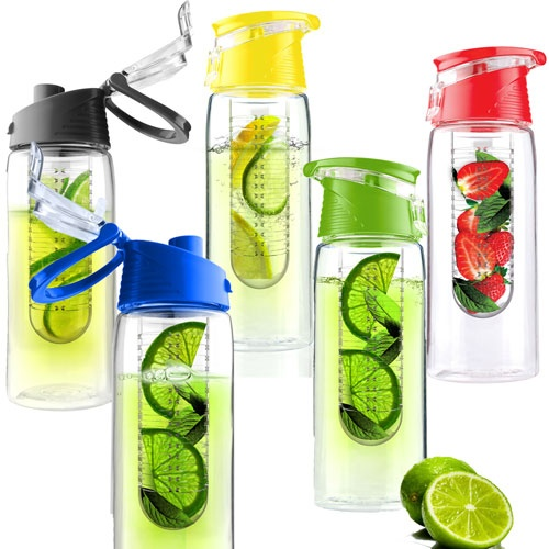 Water Bottle You Put Fruit In: Pure Flavor To Go Water Bottle With Fruit Infuser..got One