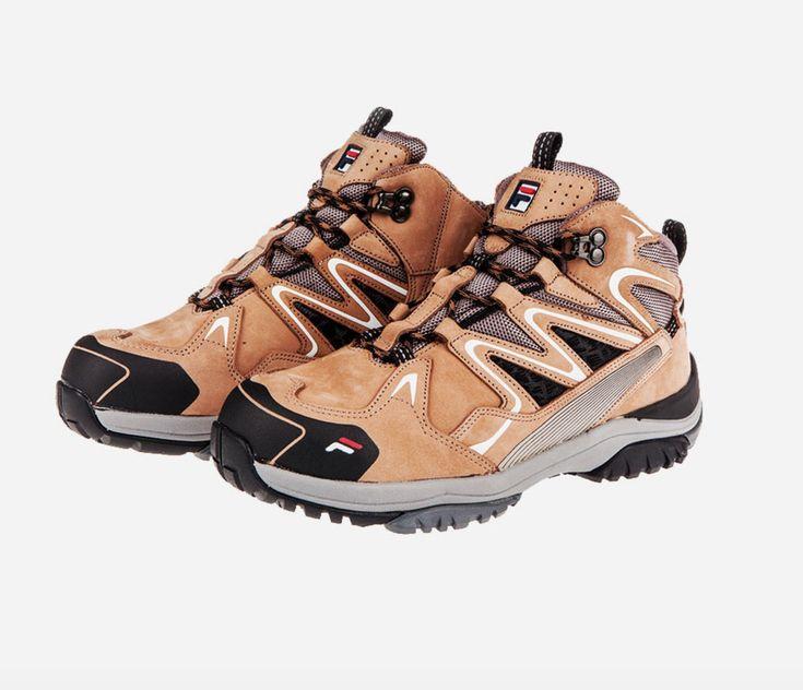 Fila best safety shoes f601 work boots waterproof nano