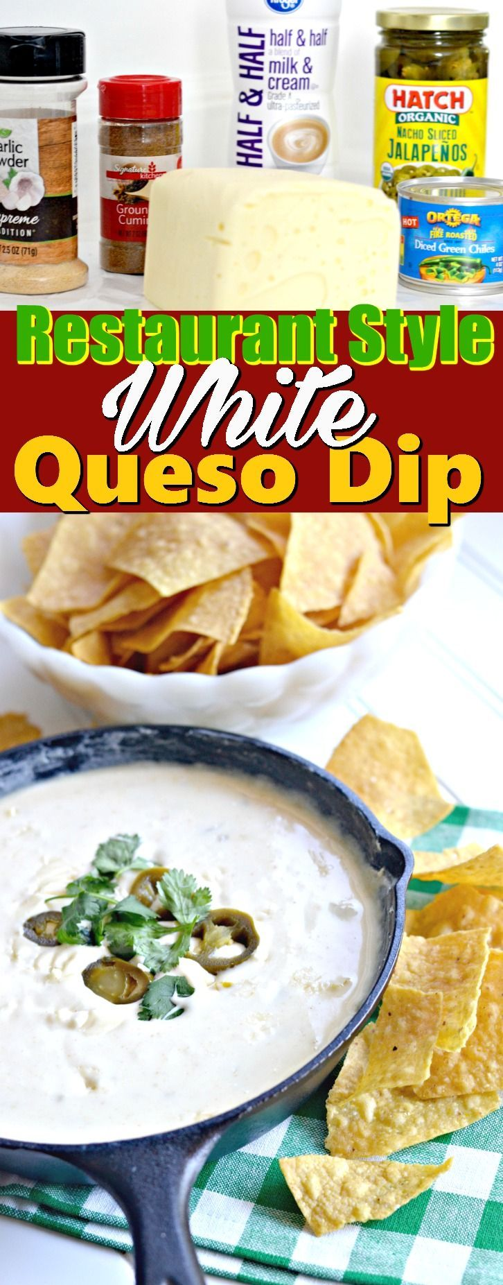 Restaurant Style White Queso Dip – Hip2Save
