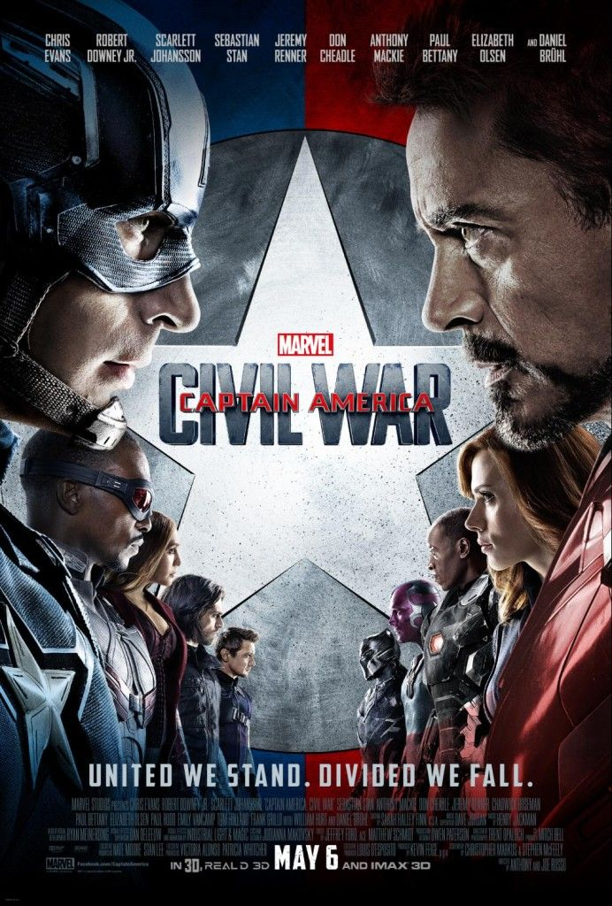 New Trailer & Poster for Marvel's Captain America: Civil War | #Marvel #TeamIronMan