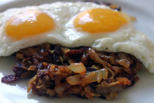 Sweet Potato Chipotle Hash.