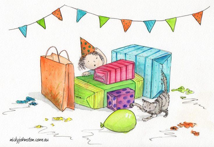 Nicky Johnston Illustration Challenge - September | Nicky Johnston: Balloons