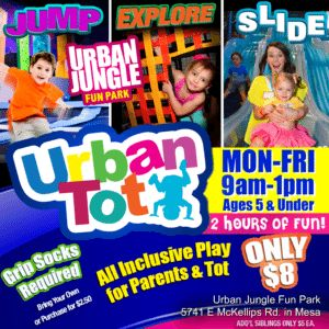 URBAN JUNGLE FUN PARK Mesa AZ Toddler Playdate Indoor Play Toddler Birthday Party for 2 and 3 Year Old Toddler Trampoline and Indoor Playground in Mesa
