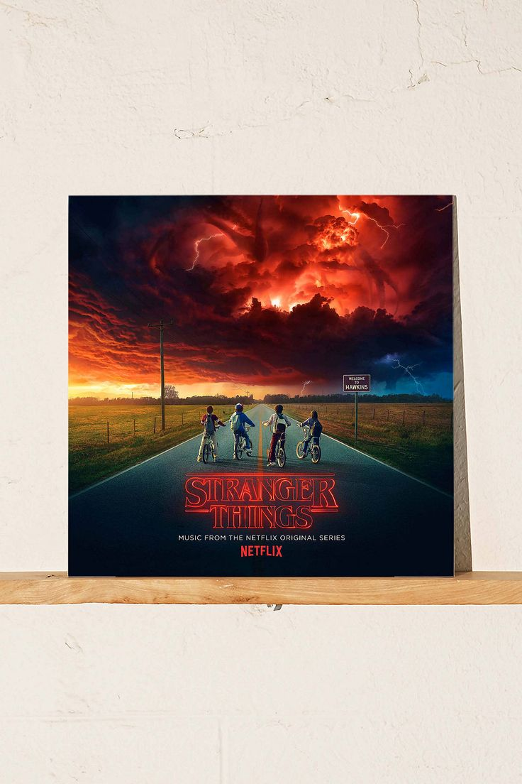 Shop Various Artists Stranger Things: Music from the Netflix Original Series Limited 2XLP at Urban Outfitters today. We carry all the latest styles, colors and brands for you to choose from right here.
