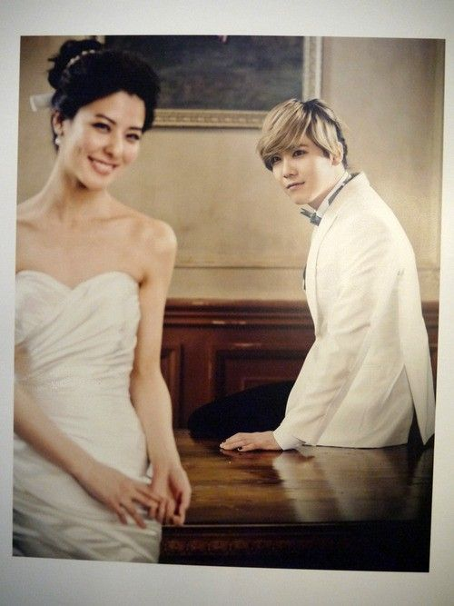 Lee Hong Ki & Fujii Mina on We Got Married Global (Wedding Shots) ♥