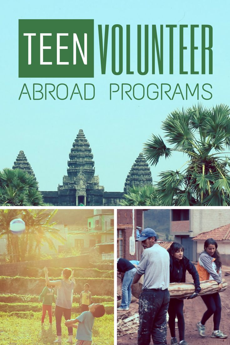Discover these safe and affordable volunteer abroad programs for teen travel...