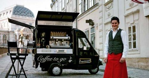 Espressomobil: Vienna's Coffee to Go : Brewed Coffee  auch dabei...am 16.11.2013  MÖBELDEPOT Halle 16:00-2:00