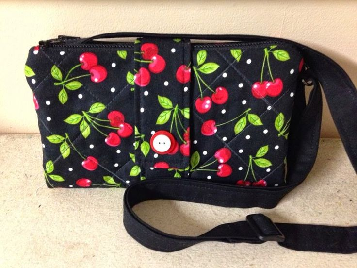 Parcel #7: Robin's Fabric Nest- Butterfly Sling Purse