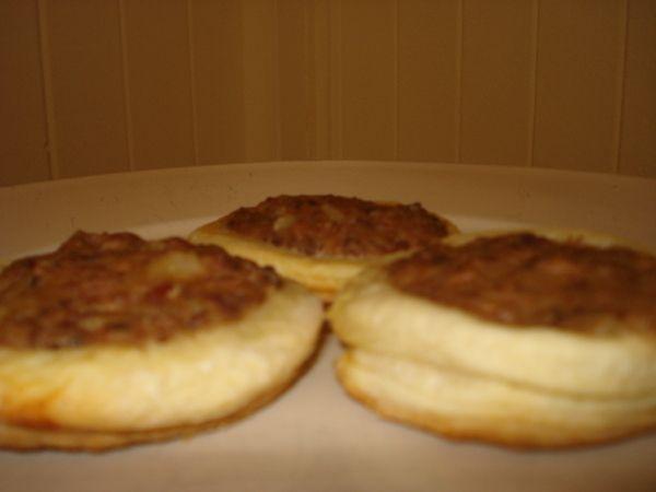Tarteletas de Pollo y Cebollitas de Verdeo