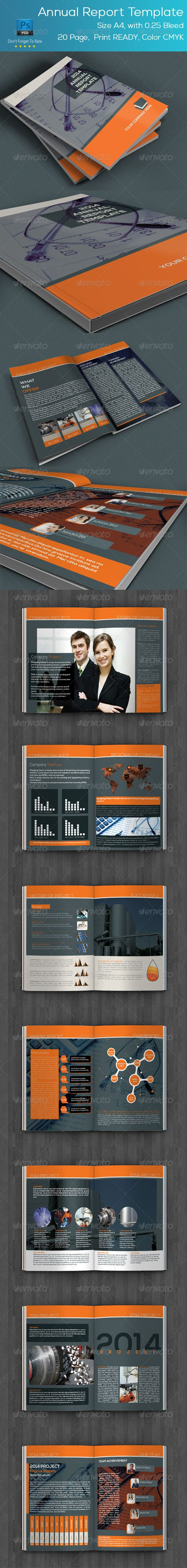 Annual Report Template Best 108 Print Templates