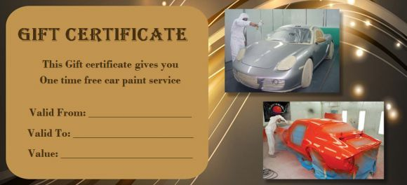 Pin On Auto Detailing Gift Certificate Template