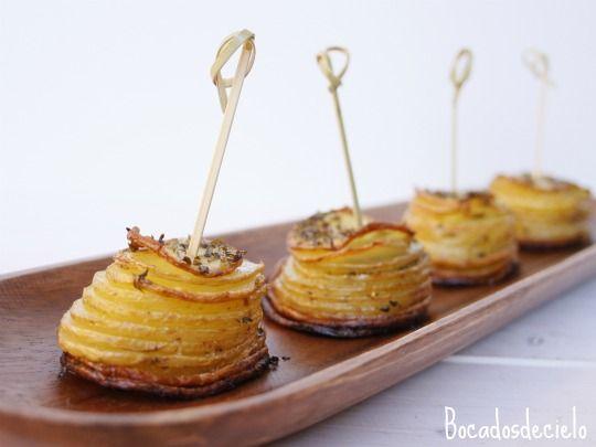Patatas para guarnición o aperitivo
