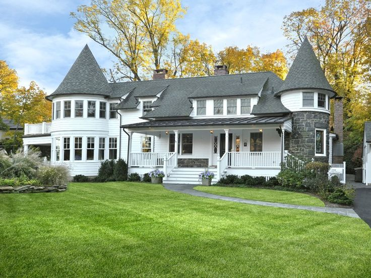 Victorian house in Greenwich, CT
