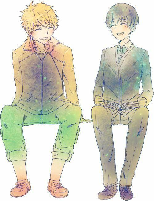 Hide & Kaneki
