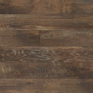 Never thought I would want laminate....only real hardwood, but the wide-plank salvaged wood i love is berry pricey.  This one is very real looking.  Most people who looked at my sample could not tell it was laminate.  manning ton flooring Restoration collection Historic oak Charcoal