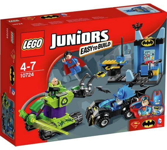 Buy LEGO Juniors Batman and Superman Vs Lex Luthor - 10724 at Argos.co.uk, visit Argos.co.uk to shop online for LEGO, LEGO and construction toys, Toys