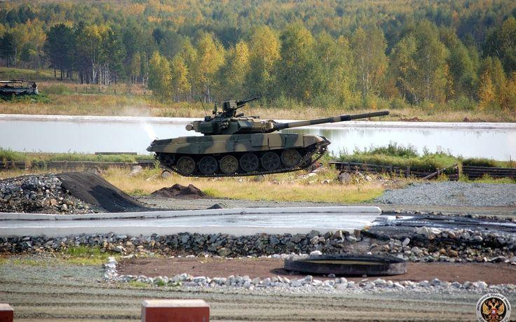 полёт, россия, вода, танк, невесомость, Т-90 1920 x 1200