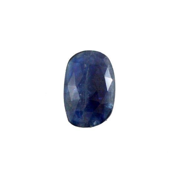 Blue Kyanite fancy rose cut 9.84 carat by SARAHHUGHESfinegems