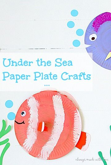 Under the Sea ~ Paper Plate Crafts