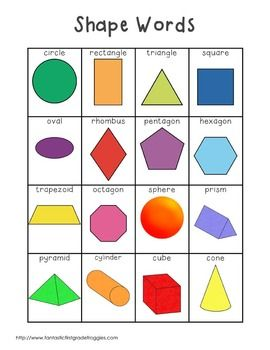 Writing Center Tools- Shape Words