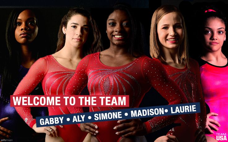 "2016 USA Olympic Women's Gymnastics Team Named ~ the ""Fierce Five"""