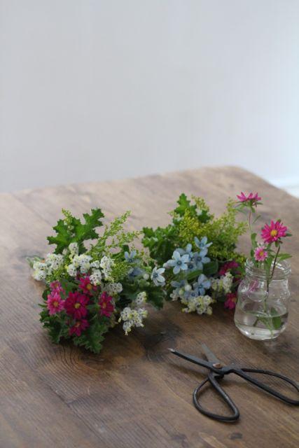 花の手土産を持っていくときにできる、気軽な3つの方法 の画像 美的な押し花 カリグラフィー 花生活