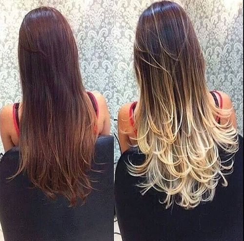 http://www.hairstyles-haircuts.com , Mechas californianas #style