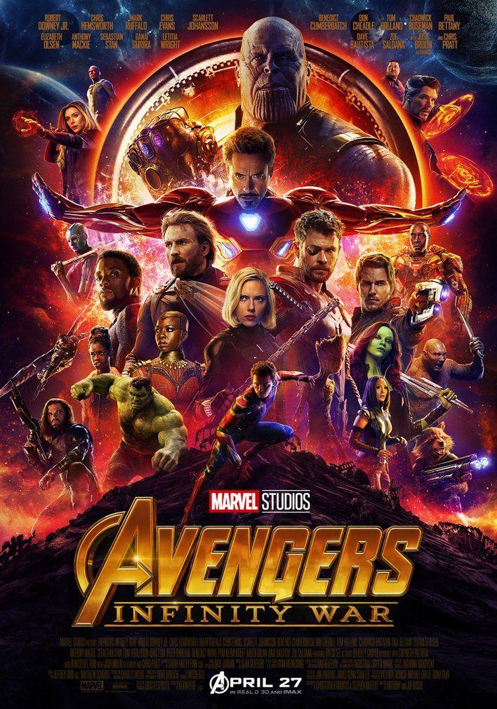 2018 Filmi Yenilmezler 3 Sonsuzluk Savaşı Avengers 3 Infinity War