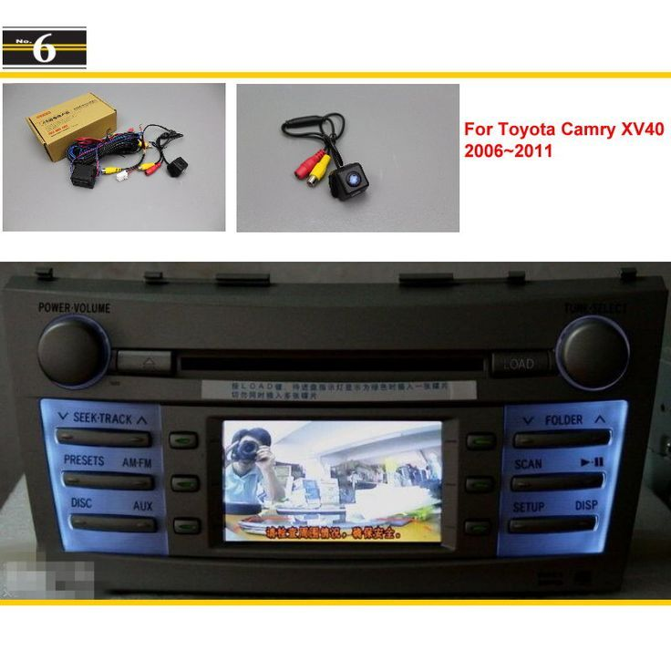 Awesome Toyota Camry 2017: For Toyota Camry XV40 2006~2011 Car Rear View Back Up Reverse Camera Sets / RCA ...