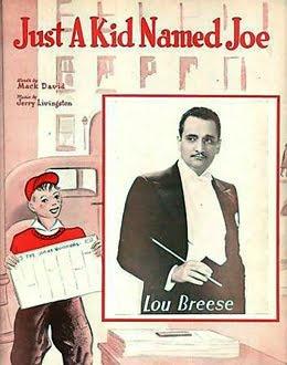 Lou Breese: Features Jazz, Jazz Age, Sheet Music, Kids, Vintage Sheet, Age Music