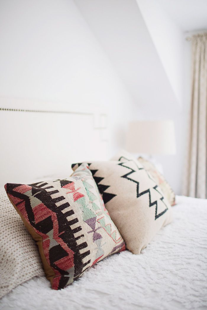 Thoughts from Alice: Styling a Bed with Kilim Pillows
