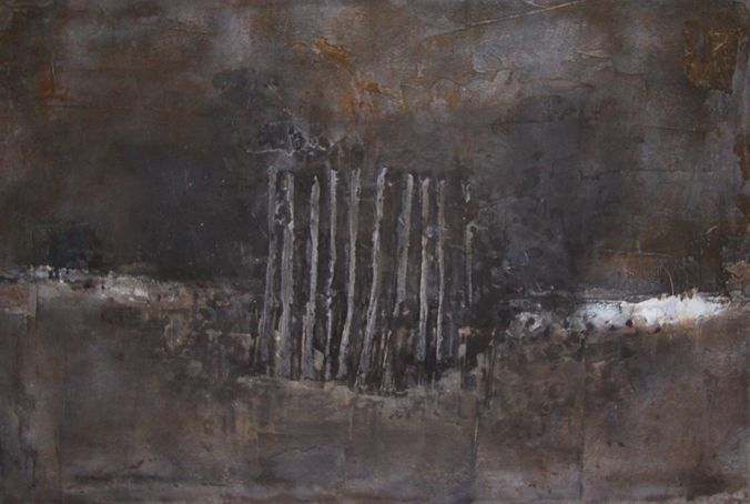 synynon (2010) 120x80cm mixed media on canvas daniel soukup