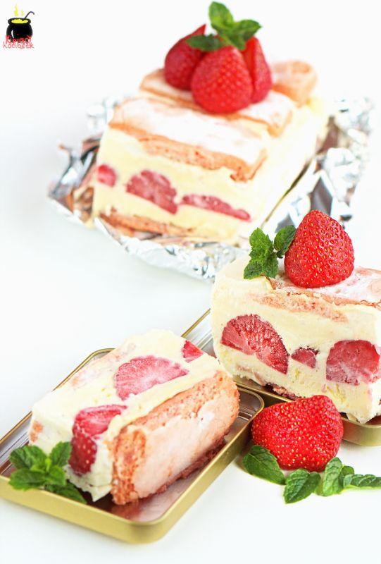 Deser fraisier revisite.