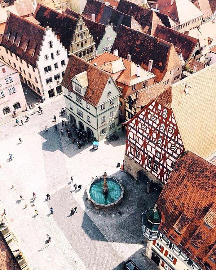 We love Rothenburg ob der Tauber and