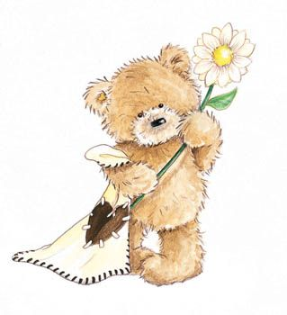 Popcorn Bear Поиск в Google Teddy Bears Pinterest
