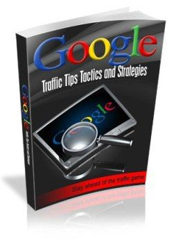 Would You Like To Instantly Know All There is to Know About Google Traffic Tips and Strategies?  Get people to notice your site and boost your sales without having to spend thousands of dollars every month!  Learn how to attract traffic to your website and improve the conversion rate  Enjoy a high
