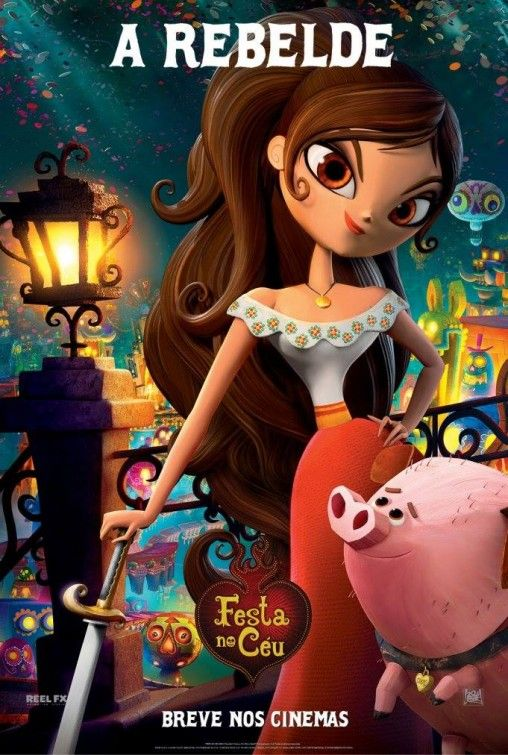 Book of Life - sweet movie - and this is Miriam as an animated character :) (Pin 5800)