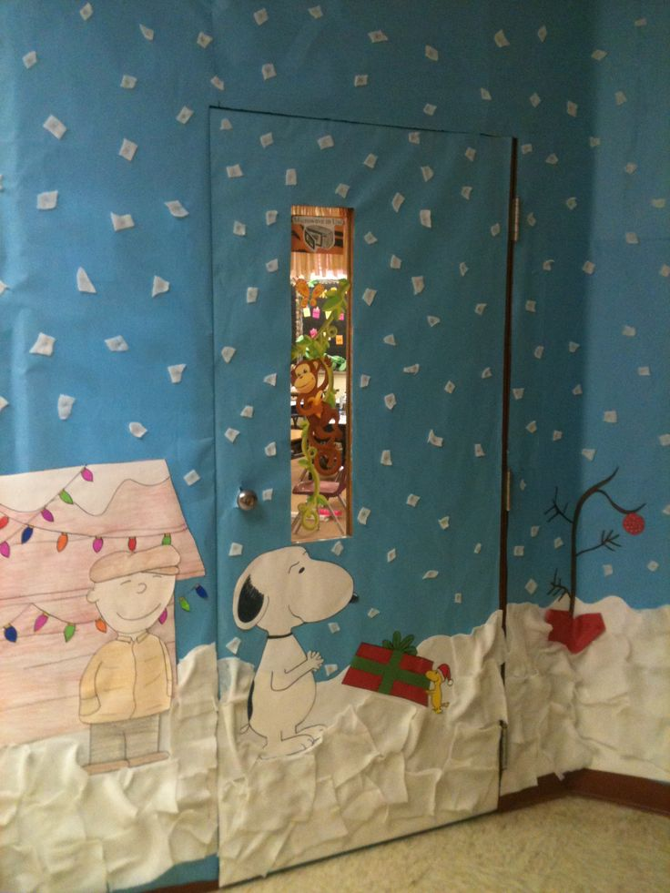 Classroom Decoration Ideas For Competition ~ Christmas classroom door decorating contest