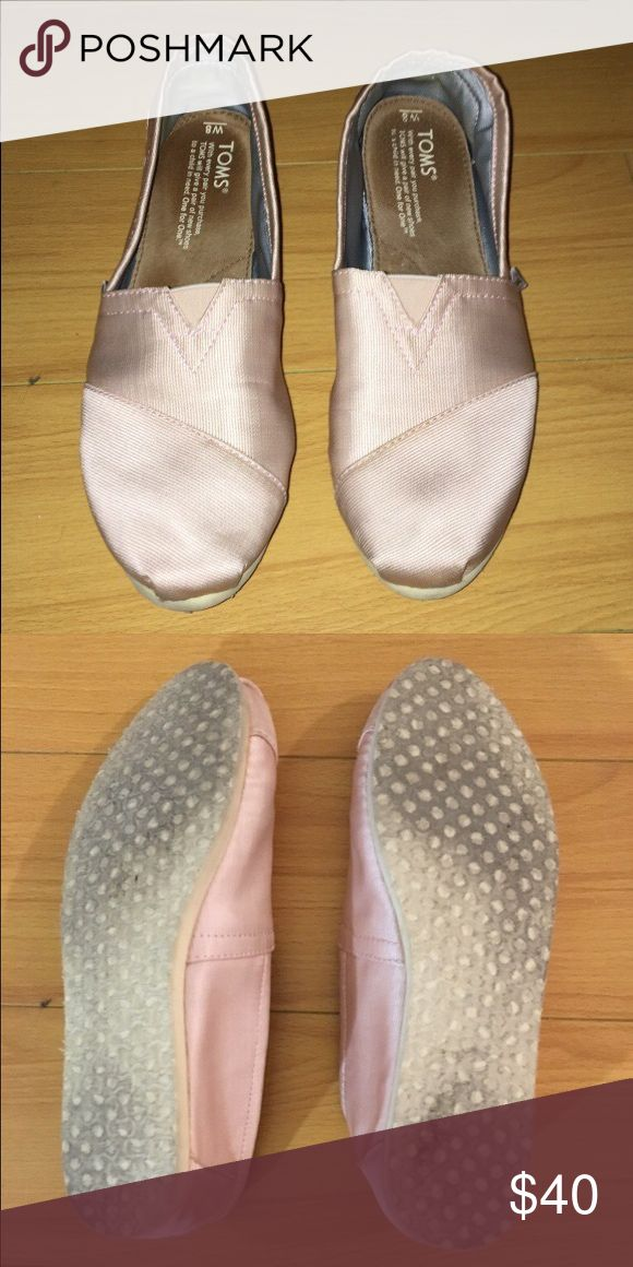 TOMS ballerina slip one Size 8, barely worn TOMS Shoes Flats & Loafers