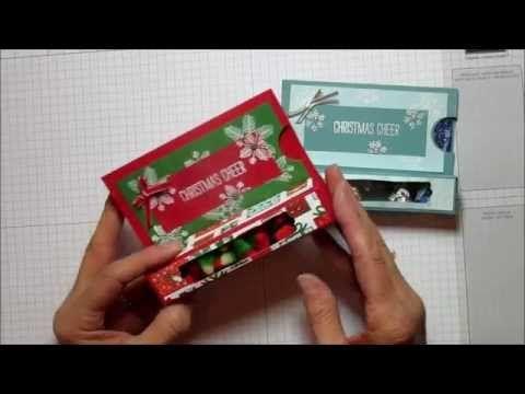 Christmas Cheer Treat/ Gift Card Box - YouTube