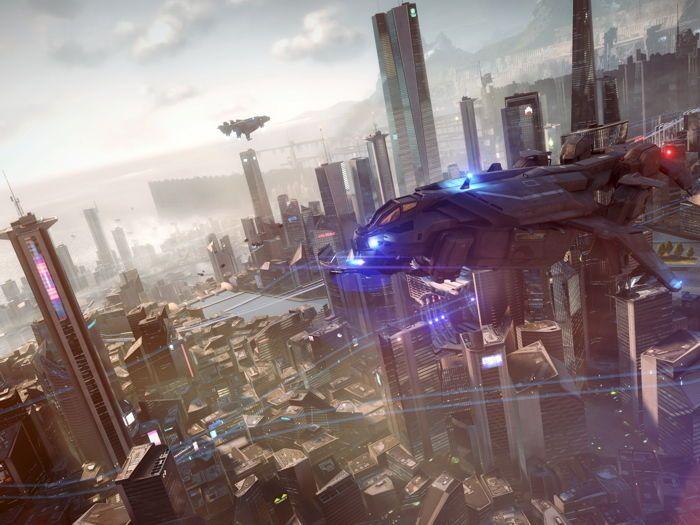 Killzone Shadow Fall Sci-Fi Futuristic City Game Art HUGE GIANT PRINT POSTER | Art, Art Posters | eBay!