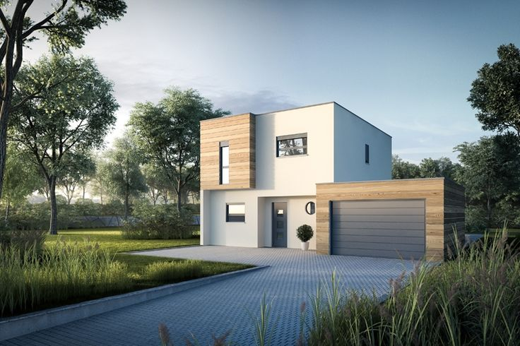 Faire construire une maison contemporaine maisons m tre for Maison moderne carre