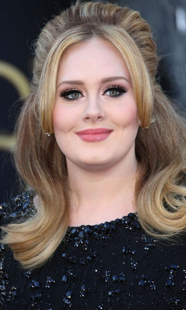 The Oscars 2013: Hair & Makeup  Adele