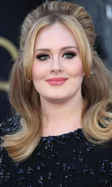 The Oscars 2013: Hair & Makeup  Adele