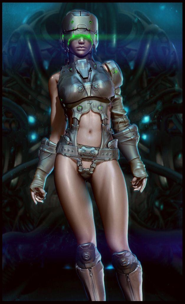 free nude female cyborgs
